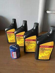 HONDA HCF-2 Cvt transmission fluid And Oem Honda Oil Filter W/Washers