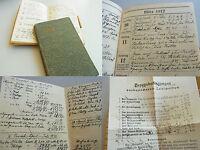 2 TAGEBUCH-Kalender MURRHARDT & Ulm 1912/13. METHODISTEN-Prediger Aug. BARNIKEL