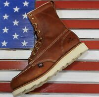"Thorogood 8"" American Heritage Safety Steel Toe Work Boot FACT2ND USA [804-4208]"