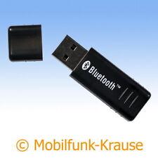 USB Bluetooth Adapter Dongle Stick f. ZTE Blade 10 Vita