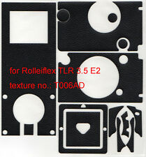 Rolleiflex TLR 3.5E2 replacement leatherette cover pre-cut self-adhesive!