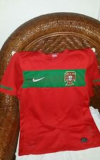 Nike Portugal national team red soccer jersey size Small mens
