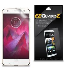 2X EZguardz Clear Screen Protector Shield HD 2X For Motorola Moto Z2 Force
