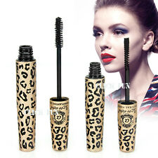 4pc Premium Fibre Leopard Mascara Brush Love Alpha Natural Transplanting Gel Set