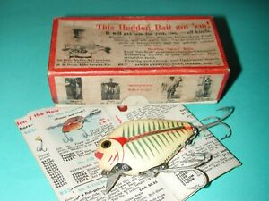 Heddon Punkinseed in box .. nice color!!
