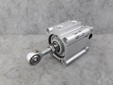 SMC 50 Bore 30 Stroke Compact Cylinder CQ2B50TF-30DZ Fitted With Hinge Mounts *