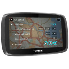 TomTom Trucker 5000 GPS Truck Sat Nav Free Lifetime Maps & 1 Year Live Traffic