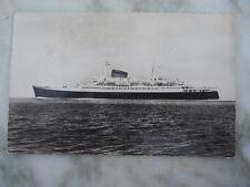 Carte postale French Line Paquebot FLANDRE C.G.T ligne Le Havre New York
