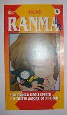 INSERTO - HOBBY & WORK/ RANMA 1/2 - VOLUME 8 - ANIME