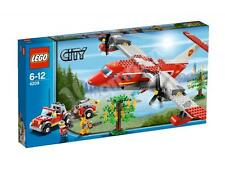 LEGO 4209 CITY Fire Plane with Fire Truck