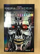 Hot Toys MMS 33 Terminator T800 T 800 Endoskeleton 12 inch Action Figure NEW