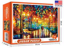 1000 Pieces Adult Jigsaw Puzzles kids Educational Puzzle Romantic Autumn Street