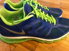 Nike Air Max 2012 Running Royal/Silver/Electric Green 487982-403 Men's Size 13