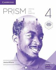 Prism Level 4 Student's Book With Online Workbook Listening and Speaking by Jess