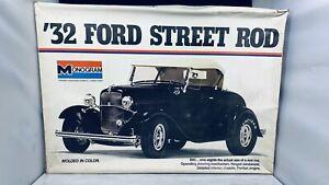 MONOGRAM 32 Ford Street Rod Large 1/8 Scale Model Car Kit #2602 051621