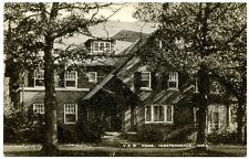 B5977 V. F. W. Home Independence Iowa IA Old Black & White Postcard Publ. Artvue