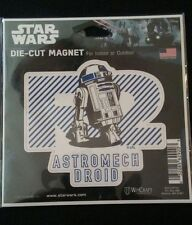 Star Wars R2D2 Astromech Droid Die-Cut Magnet Disney - New