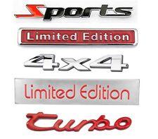 3d Car Badge Metal Sticker Decal For Chevrolet Corvette Cruze Malibu Impala
