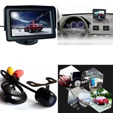 "Wireless Car Rear View 4.3"" LCD Monitor+HD IR Night Vision Backup Reverse Camera"