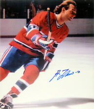 Autographed Guy Lafleur 8x10 Photo (Red) - Montreal Canadiens