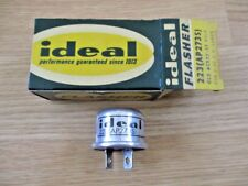 NOS Ideal 223 12 volt Signal Flasher AP273S Old #2512 2-32 C.P. Lamps 2 Terminal
