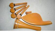 Scatola di violino legno Set, Chin riposo, Pioli, Cordiera, puntale, MORSETTO E FILO, Regno Unito!