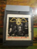 """Aerosmith """"Get Your Wings"""" 8 Track Tape ~"""