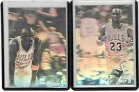 1992-93 Upper Deck Award Winner Holograms Michael Jordan CARD LOT OF 2 RARE
