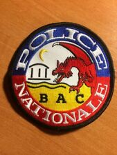 PATCH POLICE FRANCE  BAC SWAT