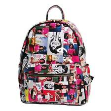 GLOSSY COLORFUL FIRST LADY OBAMA MICHELLE LUXE BACKPACK