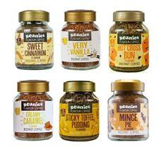 6 x Beanies Flavoured Instant Ground Coffee 50g Jars: Sweet Dreams Variety Pack