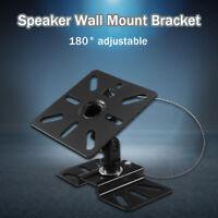 180° Metall Lautsprecher Halterung Boxen Wandhalterung Wandhalter Hänger