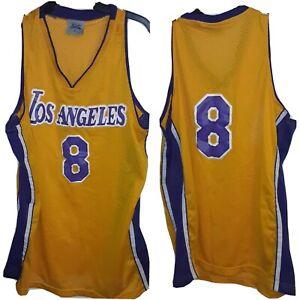 Vtg Kobe Bryant #8 Los Angeles Lakers '96-'97  Throwback  Jersey Sz XL 50 x 34