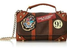Harry Potter Cross-body Wallet and Purse wizard Bag w/ Hogwarts Seal of Holding
