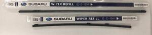 2006-2007 Subaru Tribeca Front Windshield Wiper Blade Refill Set Genuine OEM
