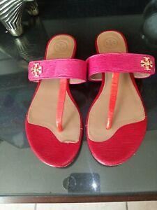 tory burch sandals 7, Runs Little Small, Multicolor
