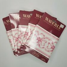 """Waverly Decorative Borders Lot of 5 Wallpaper Prepasted Washable 4.75""""x 5 Yards"""