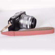 Salmon Rosa Mano Muñeca Correa Para Nikon Canon Olympus Panasonic Sony, Olympus