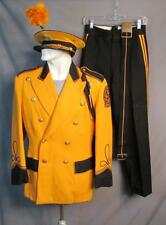 Vintage 1940s Southern Lancaster County H.S. Marching Band Leaders Uniform w/Cap