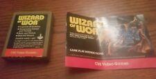 Wizard of Wor (Atari 2600, 1982) with manual