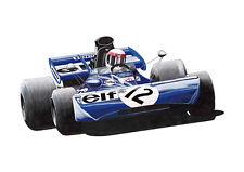 Jackie Stewart Tyrrell 003 British GP 1971 Winner POSTER PRINT A1 Size
