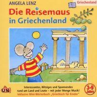 ANGELA LENZ - DIE REISEMAUS IN GRIECHENLAND  CD NEU
