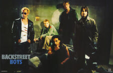 LOT OF 2 POSTERS :MUSIC :BACKSTREET BOYS  - ALL 5 POSED     #7579   RC11 i