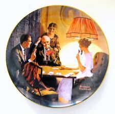 Norman Rockwell's - This is the Room That Light Made collector plate