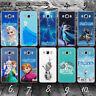 FROZEN LA REINE DES NEIGES ELSA case coque étui téléphone Samsung J3 J5 J6 J7