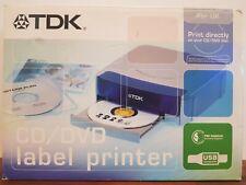 TDK CD/DVD LABEL PRINTER LPCW-50 NEW
