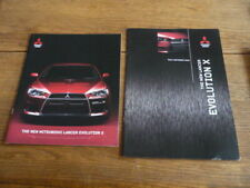 MITSUBISHI EVO X ,  EVOLUTION 2 X BROCHURES