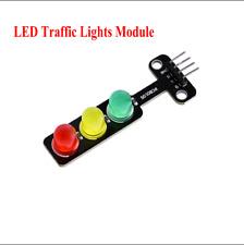 Rduino 51 SCM Platform Control 5V LED Traffic Light DIY Module 56*21*11mm