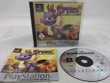 Spyro The Dragon 2 Gateway To Glimmer Sony PlayStation 1 2001 PS1 PAL
