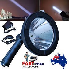 CREE LED 300000LM Rechargeable Spotlight Hunting Hand Held Torch Spot Light Camp